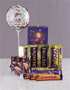 gifts: Cadbury Happy Birthday Chocolate Hamper !
