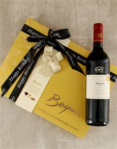 gifts: Happy Birthday Beyers and Merlot Gift!