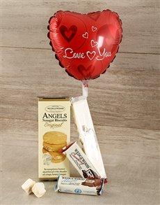 gifts: Love You Nougat Hamper!