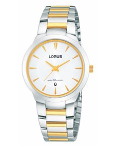 watches: Lorus Ladies White and Yellow Gold Dress Watch!
