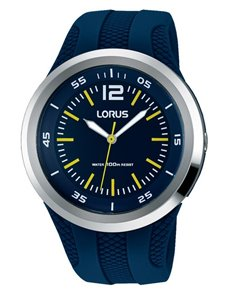 watches: Lorus Analogue Blue and Silver Watch!