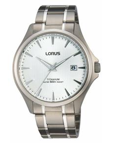 jewellery: Lorus Gents Titanium Round Watch!