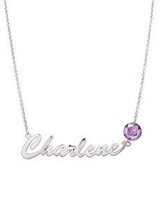 jewellery: MeMi Dec Birthstone Name Necklace!
