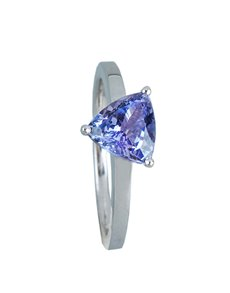 jewellery: Solitaire Silver 925 Solitaire Tanzanite Ring!
