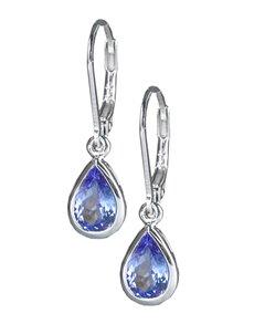 jewellery: Sterling Silver Tanzanite Studs Earrings 2.25ct!
