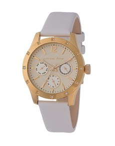 watches: Sissy Boy Ladies Gold Chronograph Couture Watch!