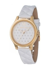watches: Ion Plated Gold Ladies Glamour Sissy Boy Watch !