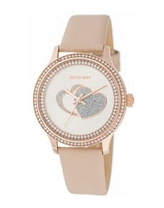 watches: Sissy Boy Glamour Dusty Pink Watch!