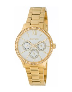 jewellery: Sissy Boy Couture Gold Watch!
