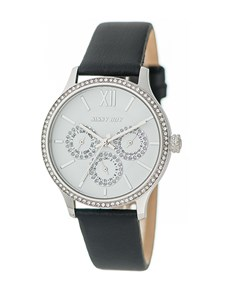 watches: Sissy Boy Couture Black Leather Watch!