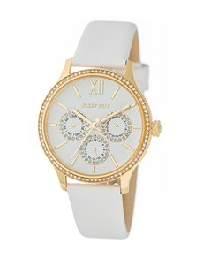 watches: Sissy Boy Couture White Watch!