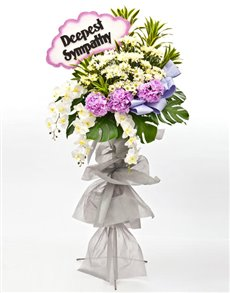 flowers: Funeral Flowers Angelic!