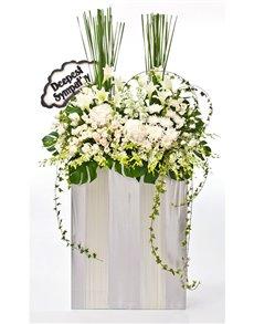 flowers: Funeral Flowers   Condolences!