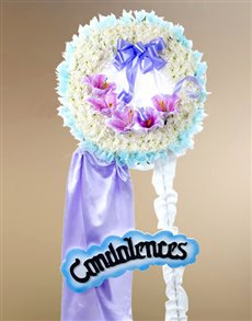 flowers: Funeral Wreath   Sympathy!