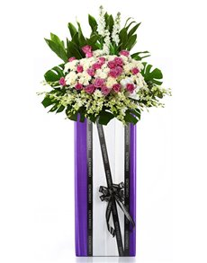 flowers: Funeral Flowers   Amazing Grace!