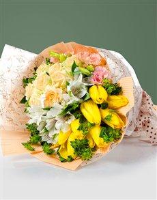 flowers: Cheerful Spring Flower Bouquet !