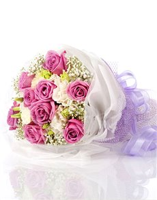 flowers: Sweet Emotion Rose Bouquet!