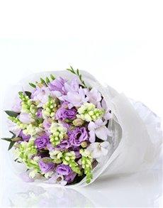 flowers: Pretty Purple Flower Posy!