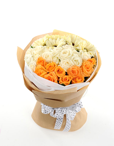 flowers: Sunny Days Rose Bouquet!