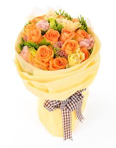 flowers: Radiant Rose Bouquet!
