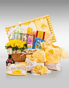 gifts: Sunny Baby Hamper!