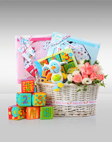 gifts: Growing Up Baby Hamper!