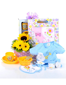 gifts: Warm Sunshine Baby Hamper!