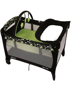 gifts: Graco Pack n Play Odyssey Crib!