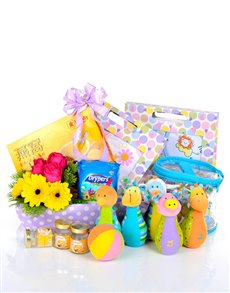 gifts: Sunshine Baby Hamper!