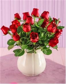 flowers: Crisp Crimson!