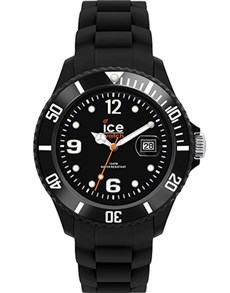 watches: Ice Forever Small Black Watch!
