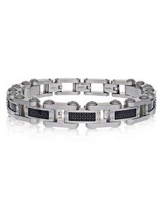 jewellery: ARZ Steel Futuristic Mens Bracelet!