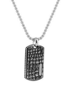 jewellery: ARZ Steel Snake Skin Pendant!