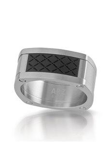 jewellery: ARZ Steel Ring SSR02!