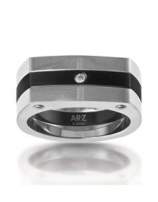 jewellery: ARZ Steel Ring SSR07!
