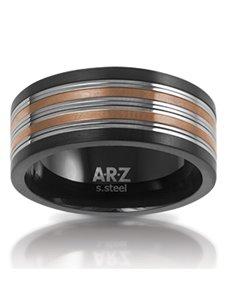 jewellery: ARZ Steel Ring SSR08!