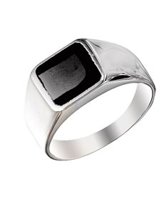 jewellery: Sterling Silver Gents Ring SSRG113!