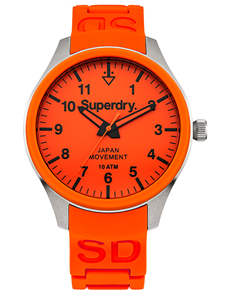 watches: Superdry Gents Scuba Orange Watch!