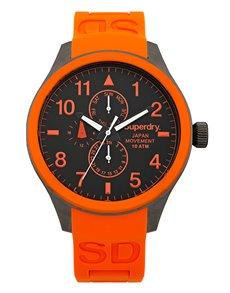 jewellery: Superdry Gents Orange 44mm Scuba Multi Watch!