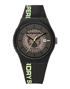 watches: Superdry Unisex Black Urban Watch!