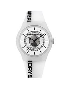 watches: Superdry Unisex White Urban Watch!