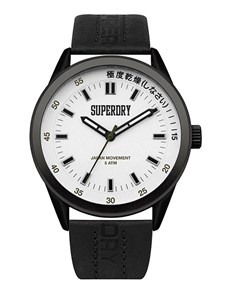 watches: Black Superdry Regent Corporal Watch!