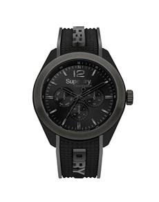 watches: Superdry Gents Navigator Posh Black Watch!
