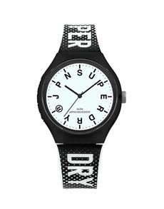 watches: Superdry Gents Black Urban XL Festival Glow Watch!