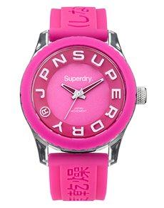 watches: Superdry Ladies Tokyo Pink Branded Watch!