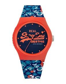 watches: Ladies Superdry Blue Floral Coral Urban Watch!