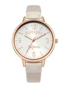 watches: Ladies Superdry Grey Strap Watch!