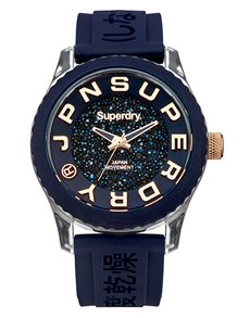 watches: Superdry Ladies Tokyo Blue Shimmer Watch!