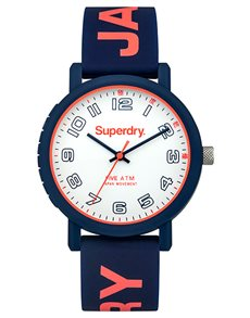 watches: Superdry Ladies Campus Gray and Pink Watch!