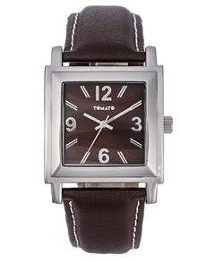 jewellery: Tomato Gents Square Brown Watch !